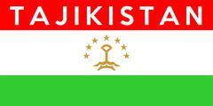 Flag of tajikistan Stock Illustration