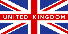 flag of united kingdom - stock illustration