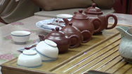 Stock Video Footage of ceramic teapot