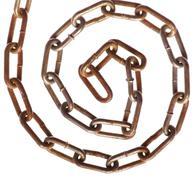 rusty chain spiral - stock photo