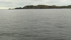 View of Cape Horns cliff (Cabo de hornos) Stock Footage