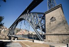 Dom Luis Bridge Stock Photos