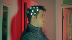 Mind control machine Stock Footage