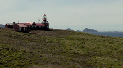 Landscape of lighthouse from cape horn (cabo de hornos) Stock Footage