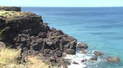 Hawaiian coast and Stock Footage