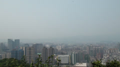 Beautiful view of Taipei city, Taiwan Stock Footage