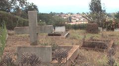 Tombstones in kenya Stock Footage