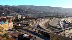 0623  Baron Hill Elevator, Valparaíso Stock Footage