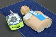 Stock Photo of aed dummy