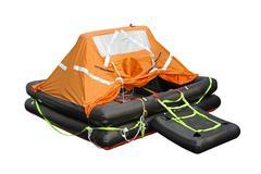 Life raft Stock Photos