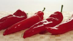 Stock Video Footage of Red paprika, ultra HD - 4K