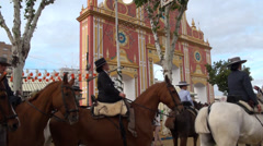 Seville April Fair 2012 portada Stock Footage