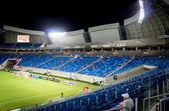 Arena das Dunas - Copa do Mundo - Brasil  - Natal - Rio Grande do Norte Stock Photos