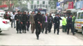 Anti Terrorist Forces and Intelligence Officers at scene of Terrorist Attack Footage