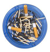 ashtray. - stock photo