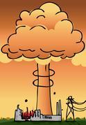 Ydinvoimalan Disaster Piirros