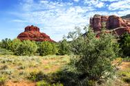 Stock Photo of bell rock, sedona