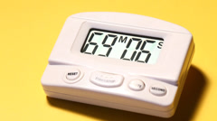 Timer Stock Footage