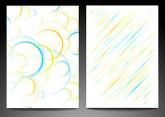 Abstract backdrops Stock Illustration