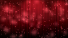 Red Light Burst over Theatrical curtain. With chroma key Stock Footage