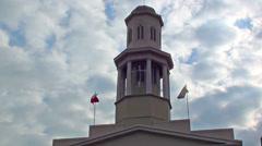 0712 La Matriz Church, Valparaíso Chile Stock Footage