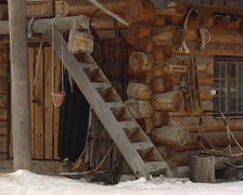 Alta city in norway (Northern Sami) Stock Footage