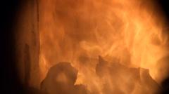 Incinerator incinerator - stock footage