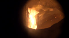 Stock Video Footage of Incinerator on Board Ships