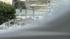 Punta Arenas cityscape Stock Footage