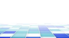 Abstract blue squares loopable background Stock Footage