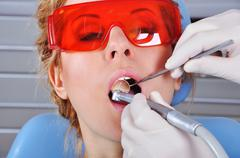 dentist appointment - stock photo