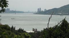 Danshui river Stock Footage