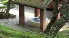Santo Domingo castle, water well Stock Footage