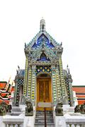 Temple of the emerald buddha Stock Photos