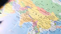 World Map Arkistovideo