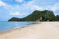 The beach and island in thailand Stock Photos