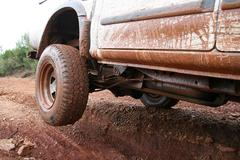 4x4 offroad - stock photo