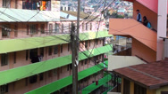 Stock Video Footage of 0720  Characteristic streets of the hills of Valparaiso
