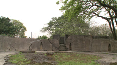 Huwei Fort Stock Footage