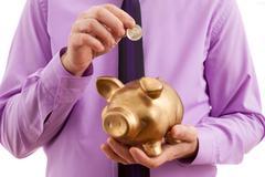 savings money - stock photo
