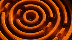Heating Element Stock Footage