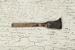 Antique lacquer tool (still life) Stock Photos