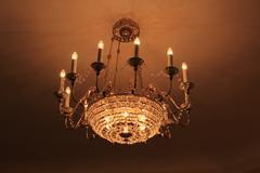Ancient light. - stock photo