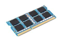 Computer memory isolated on white background Stock Photos