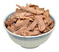 Shredded Chinese Aromatic Duck Meat Stock Photos