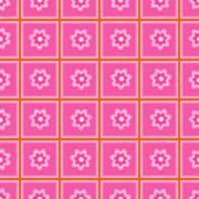 seamless pattern abstract flowers. - stock illustration