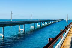 Seven Mile silta, avaimet, Florida Kuvituskuvat