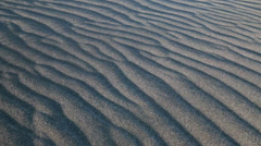 Black desert sand blowing in the wind, Stokksnes Iceland Stock Footage