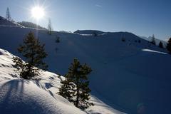Mountain lumi Kuvituskuvat