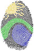 Fingerprint - Nature - stock photo